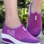 รองเท้าผ้าใบเสริมส้น Sport Girl (สีม่วง)