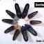 รองเท้าคัทชูส้นสูง หัวมน ผ้าสักหลาด (สีดำ ) thumbnail 5