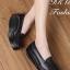 รองเท้าคัทชูเพื่อสุขภาพ เสริมส้น (สีดำ )