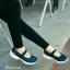 รองเท้าผ้าใบยางยืดสีกรม Style Sketcher การันตีว่านุ่มมาก (สีกรม )