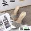 รองเท้าส้นสูง สไตล์แบรรนด์ TOP SHOP 3006-8-APRICOT [สีแอปริคอท]