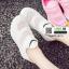 รองเท้าผ้าใบแฟชั่น ทรงสวย E17-WHITE [สีขาว] thumbnail 1