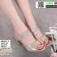 รองเท้าส้นสูงเปิดส้น B231-6-GLD [สีทอง] thumbnail 1