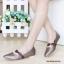 รองเท้าคัทชูส้นแบน หัวแหลม หนังบุนวม สไตล์น่ารัก (สีน้ำตาล ) thumbnail 2