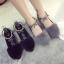 รองเท้าคัชชู STYLE KOREA (สีดำ) thumbnail 5