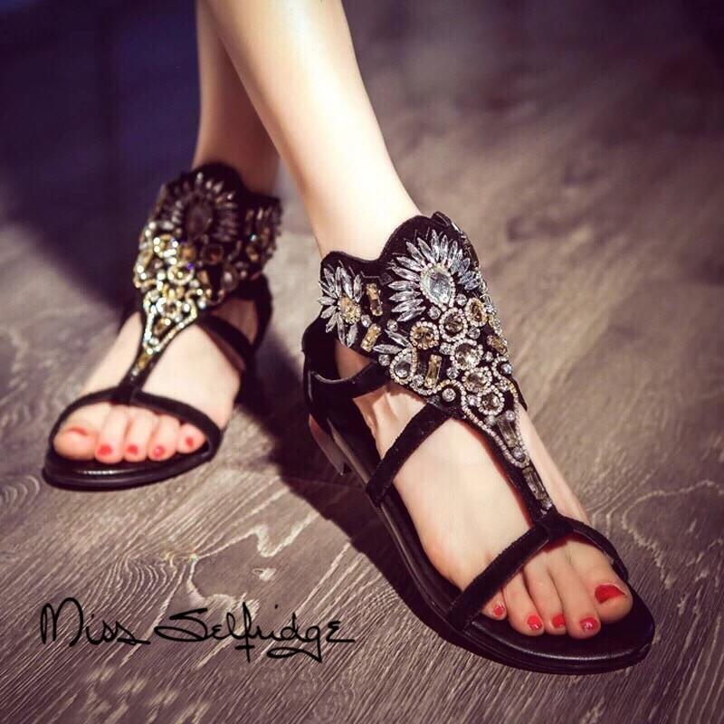 รองเท้าแตะผู้หญิง รองเท้าแตะหูหนีบ รองเท้าแตะรัดส้น